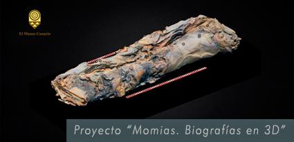 """Proyecto """"Momias. Biografías en 3D"""""""